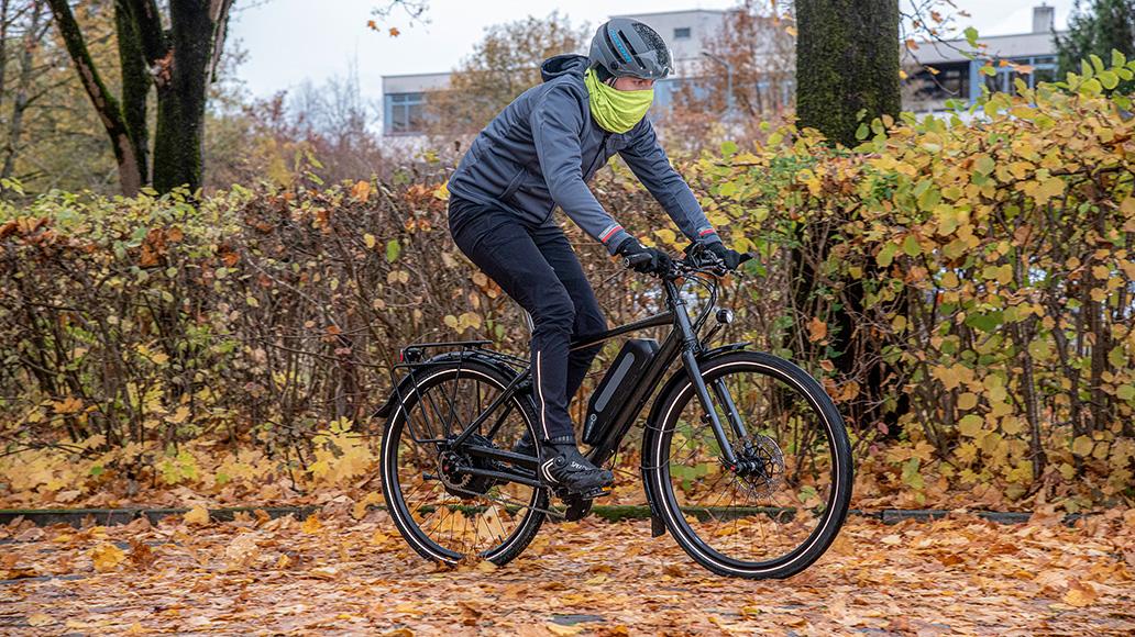 Bremstechnik, Radfahren im Winter