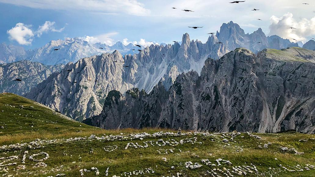 E-Bike, Reise, Alpen, Dolomiten, Radfahren, Fahrrad