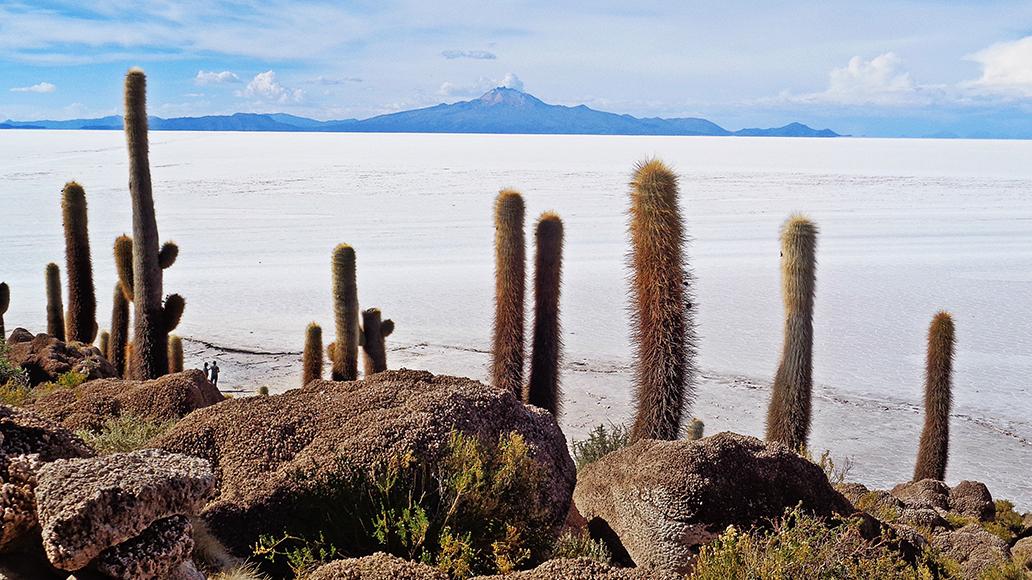 In der Salar de Uyuni liegt eines der größten bekannten Lithium-Vorkommen der Erde. In Südamerika gibt es wegen der Lithium-Gewinnung immer wieder Unruhen.