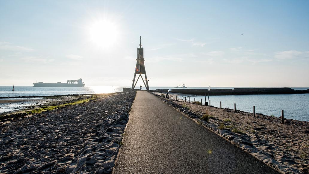 Weser, Radweg, Radfahren, Fahrradtour