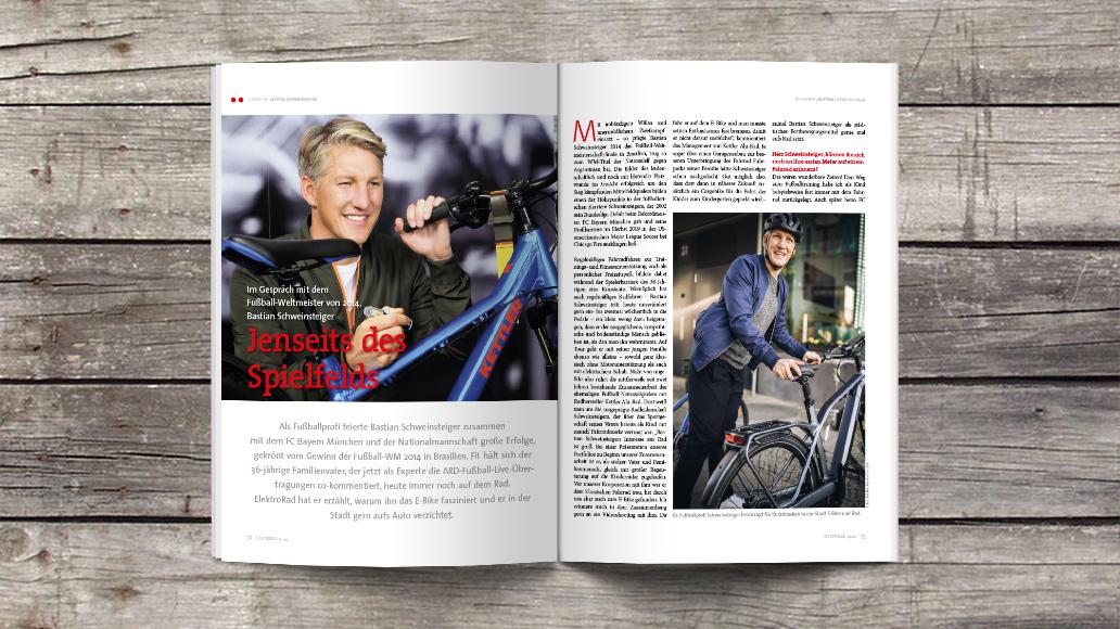 Im Interview: Bastian Schweinsteiger