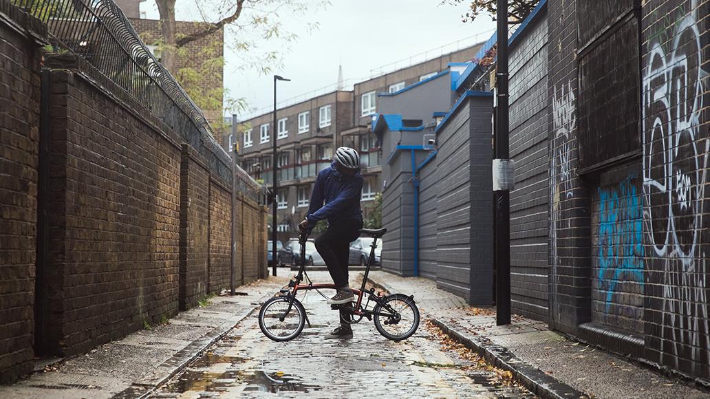 Brompton Bicycle, Black Edition, Faltrad, Radfahren, Fahrrad