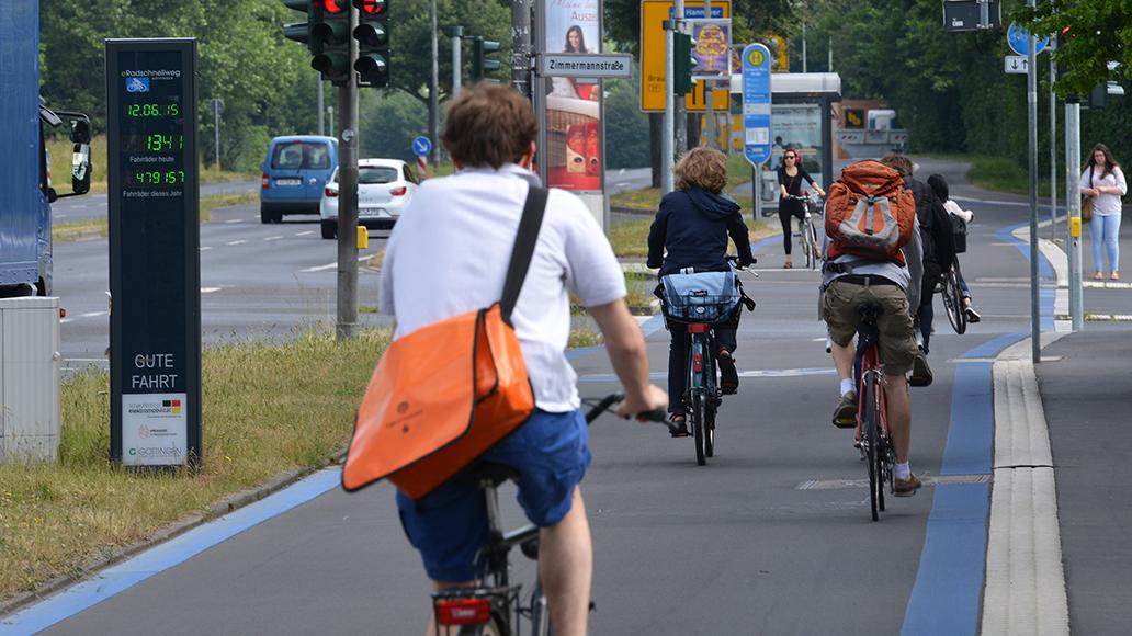ADFC, Radwegebau, Radfahren, Verkehrsministerium, E-Bike