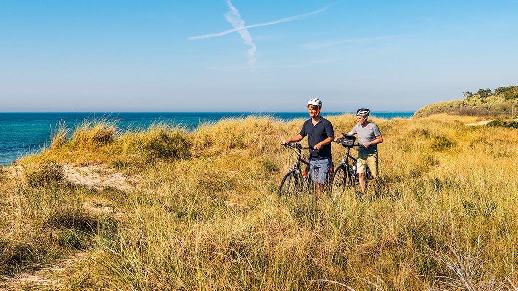 Radreise, Ostsee-Küstenradweg, Radfahren, E-Bike, Ostsee