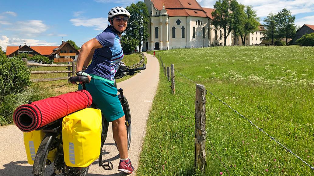 Bodensee-Königssee-Radweg, Radfahren, Radtour, Radreise, Fahrrad