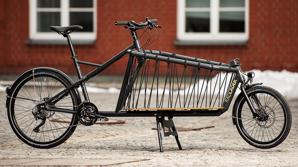 Cargo Bike Monkeys Radlader, Lastenrad