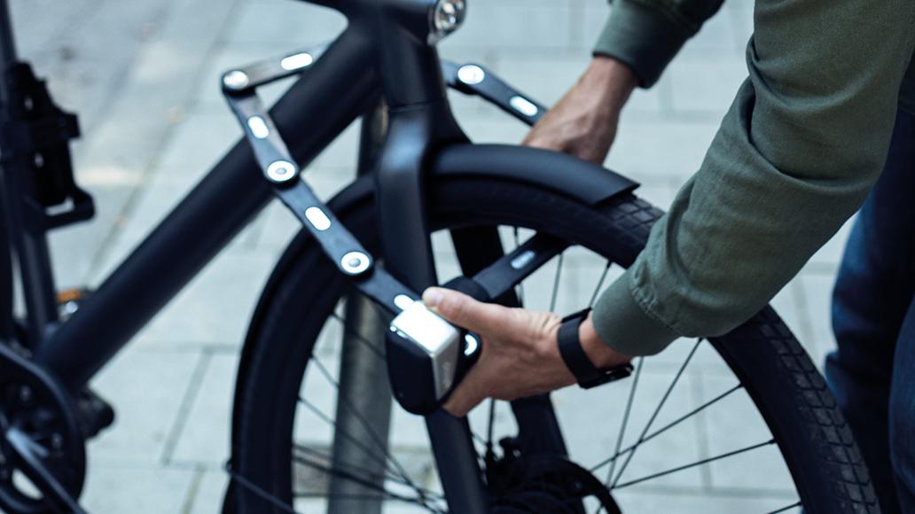 Diebstahlschutz, Fahrradschloss, Radfahren, E-Bike, Sicherheit
