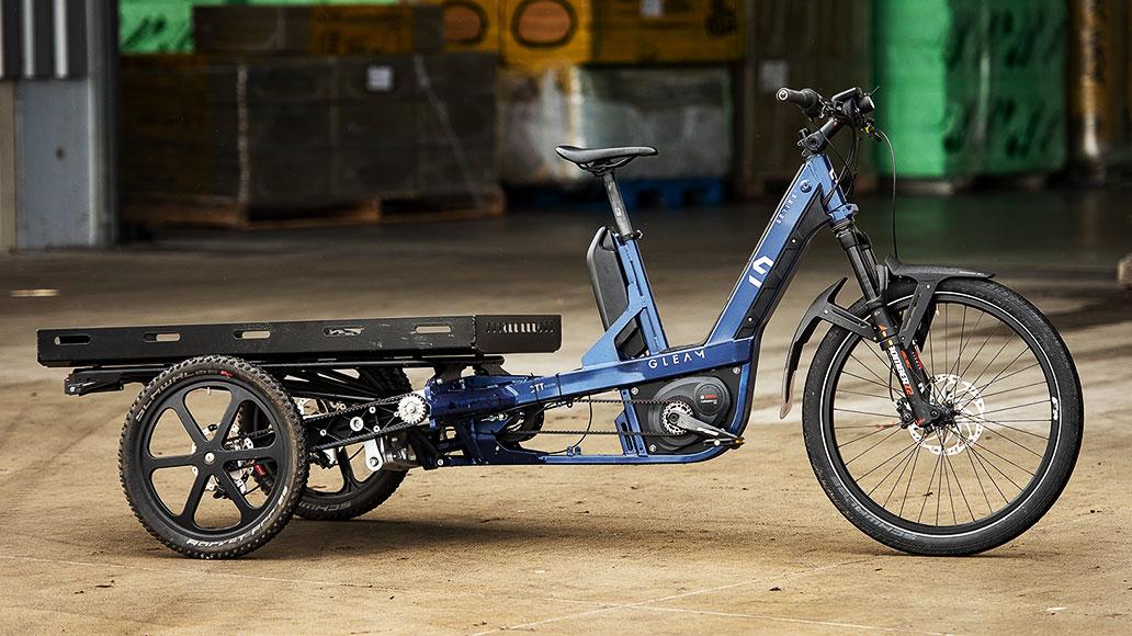 Gleam Lastenrad, Lastenrad, Cargobike, Test