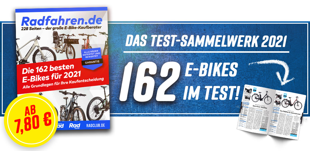 E-Bike-Kaufberater 2021, Banner