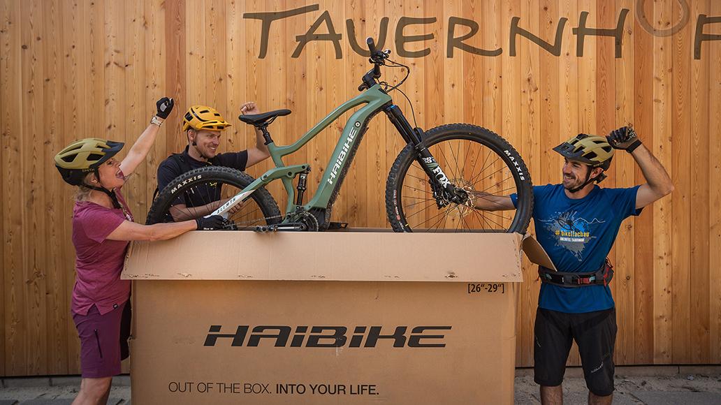 Tauernhof Flachau, Bikehotel, Salzburgerland, E-Bike, Haibike, Fahrrad