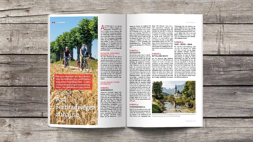 Reise: Fernradwege in Deutschland