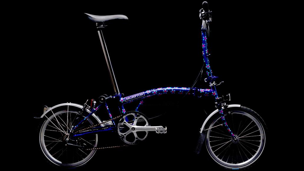 Brompton, Faltrad, Bicycle, Fahrrad, Radfahren