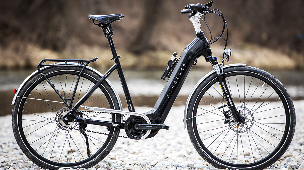 Wanderer E-Tourer I-F5 Edition, Test, E-Bike, E-Bike-Test
