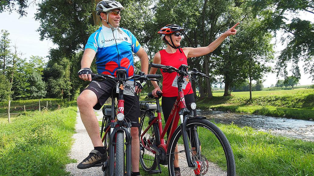 Markgräflerland, Bad Krozingen, E-Bike, Tour, Reise