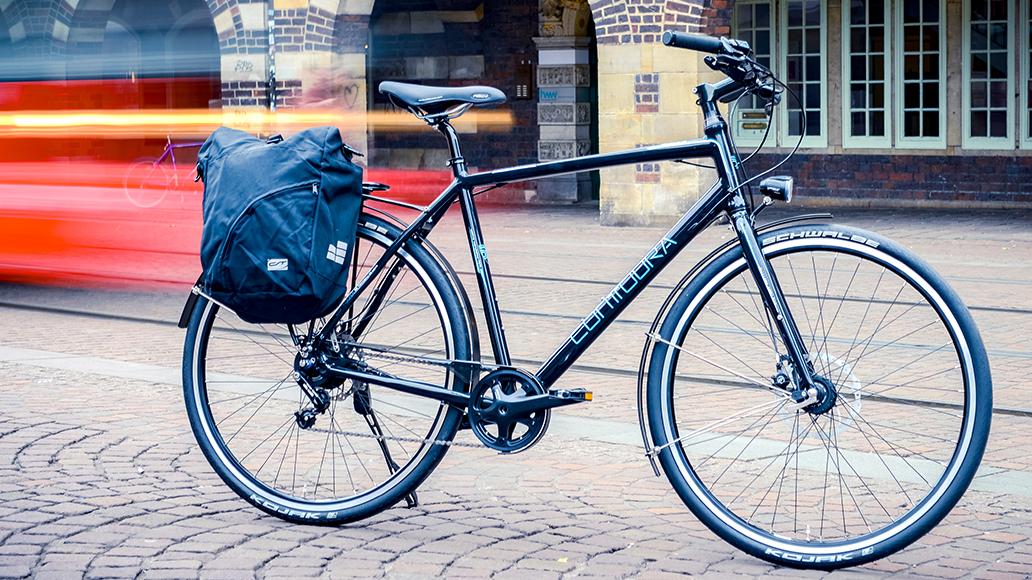 Gepäckträger, Radtouren, Fahrrad, E-Bike, Radfahren, Gepäck