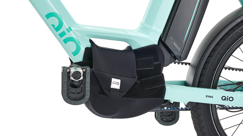 Für den QiO-Transport: Neopren-Motorschutz