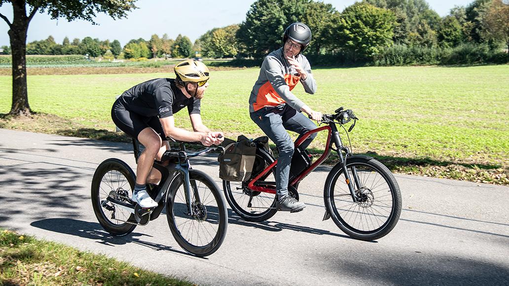 E-Bike, Pedelec, S-Pedelec, Radfahren