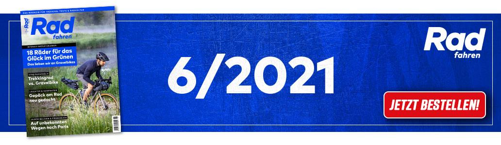 Radfahren 6/2021, Banner