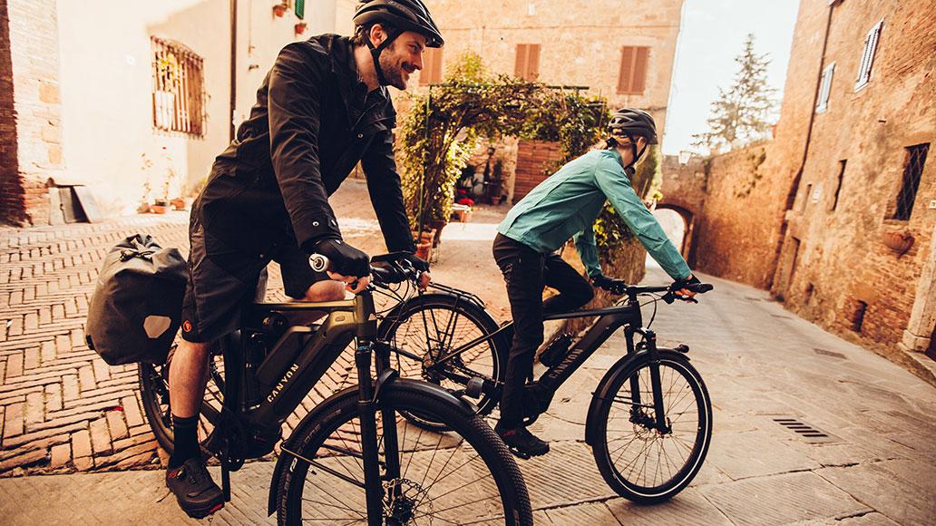 Radreise, Reiseräder, Gesellschaft