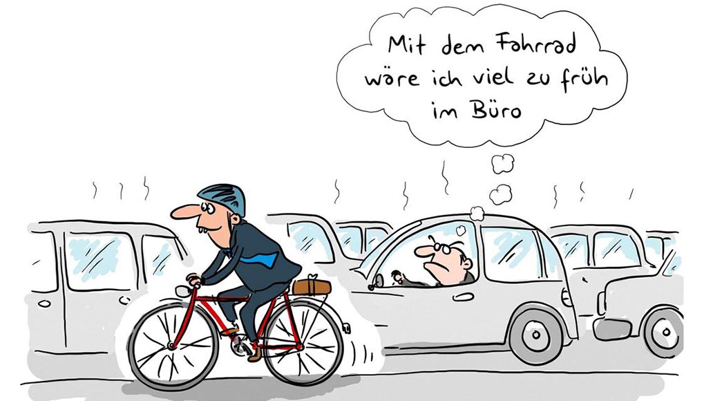 Karikatur von Mario Lars