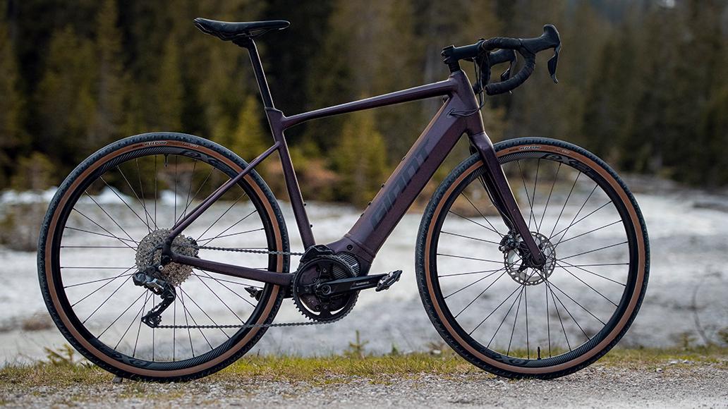Giant, Revolt E+, E-Bike, E-Gravelbike, Radfahren, Bikepacking