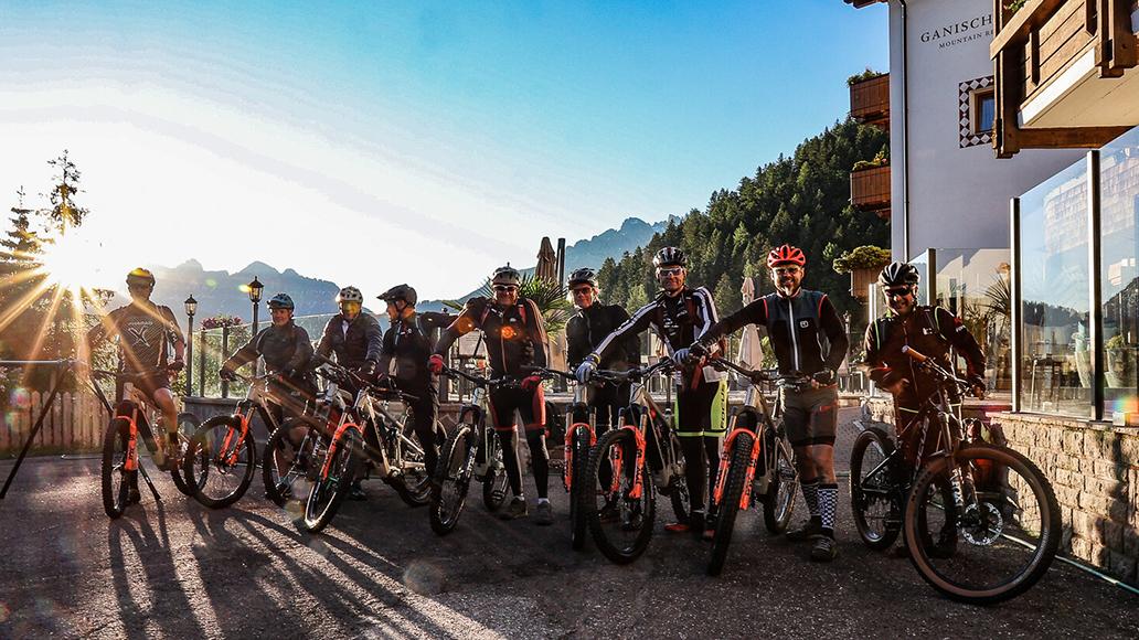 E-Bike, Kluge & Friends, Mike Kluge, Dolomiten, Südtirol, Radurlaub, Fahrrad, Radfahren