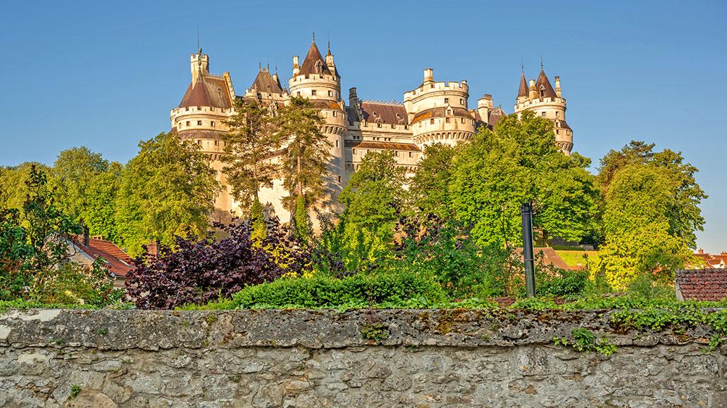 Schloss Pierrefonds, Radreise