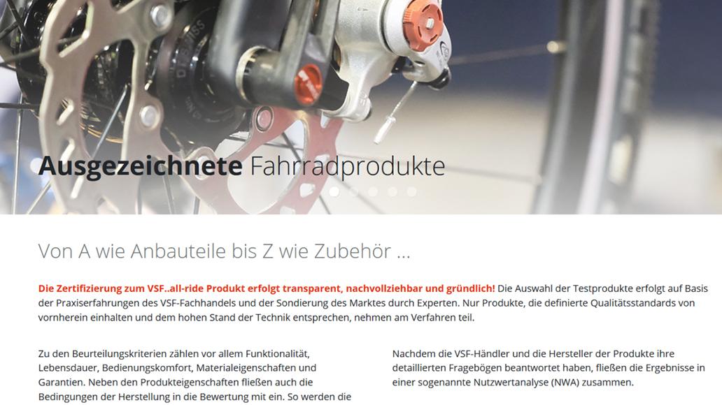 VSF, Fahrradmanufaktur, Qualitätssiegel, Radfahren, Fahrrad, E-Bike