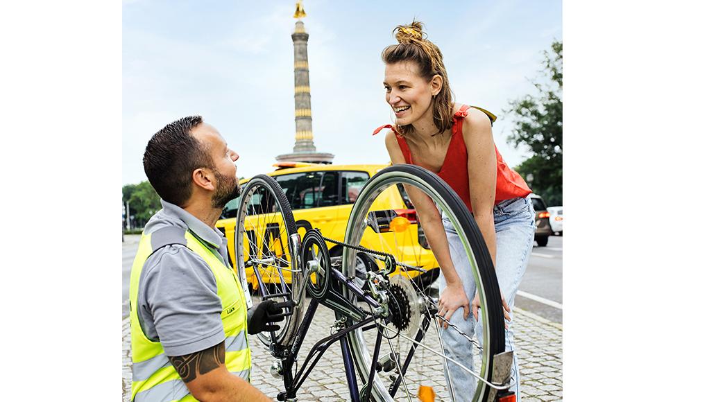 ADAC, Pannenhilfe, Fahrrad, Radfahren, E-Bike