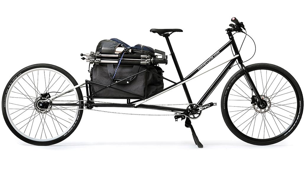 Convercycle, Lastenrad, Cargobike, E-Bike, Radfahren