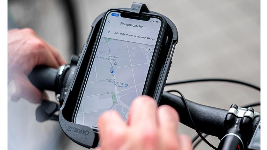 Sminno, Freisprecheintichtung, E-Bike, Fahrrad